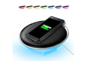 Luminária Mesa Colorful Carregador Celular Wireless Base Qi Led 57006